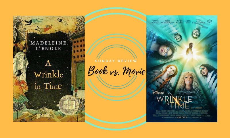 A Wrinkle in Time book vs. Movie