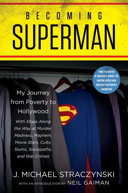 Becoming Superman Book Cover