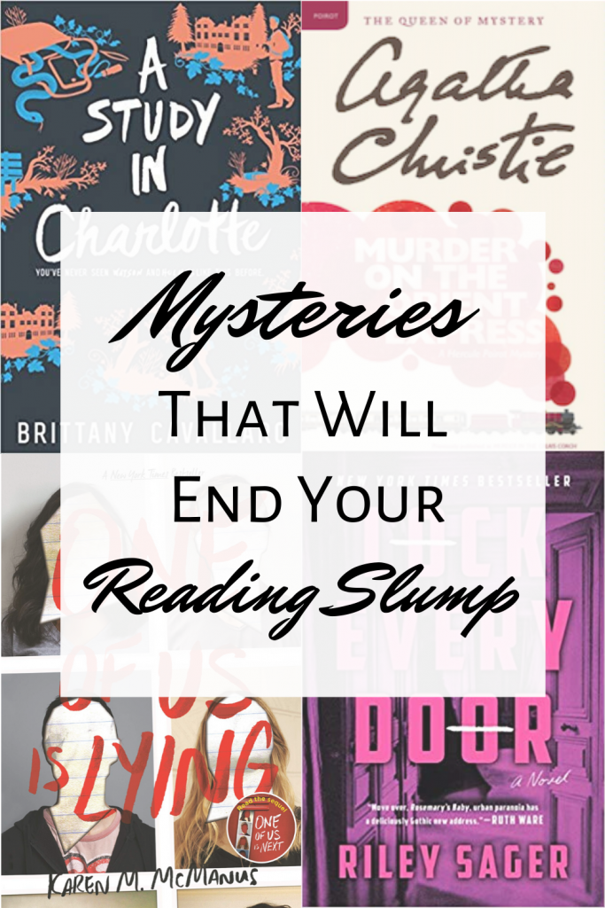 Mysteries That Will End Your Reading Slump